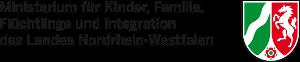 Logo Ministerium für Kinder Familie Flüchtlinge und Integration des Landes NRW